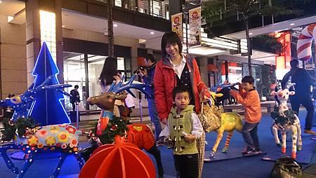 102.12.13台北市感受耶誕氣氛5