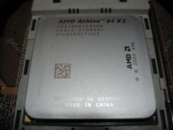 AMD AM2 3600+ L2 512K*2 本體