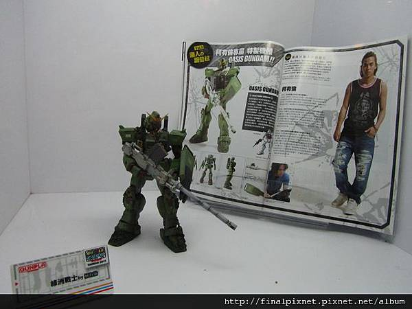 Gunpla EXPO 2011-COOL_with_鋼彈-柯有倫作品.jpg
