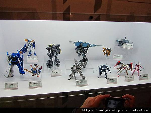 Gunpla EXPO 2011-場外-模友作品.jpg