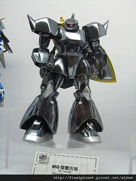 Gunpla EXPO 2011-場外-模友作品-銀色金屬風MG傑爾古格.jpg