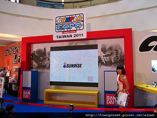 Gunpla EXPO 2011-會場.jpg