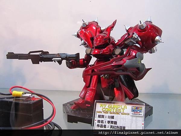 Gunpla EXPO 2011-模友作品-真紅色慧星.jpg