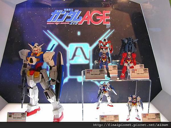 Gunpla EXPO 2011-鋼彈AGE-作品.jpg