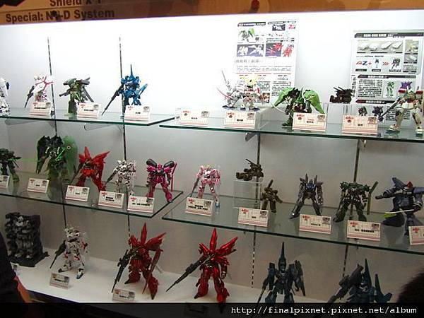 Gunpla EXPO 2011-鋼彈UC系列-1.jpg