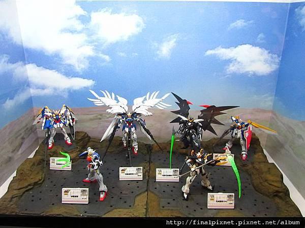 Gunpla EXPO 2011-鋼彈W-目前已出MG.jpg