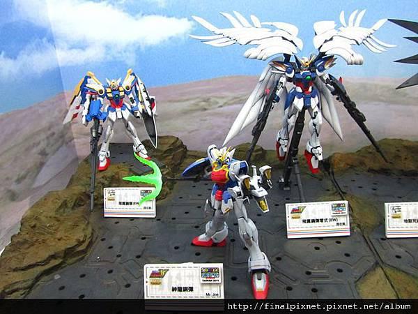 Gunpla EXPO 2011-鋼彈W-目前已出MG-1.jpg