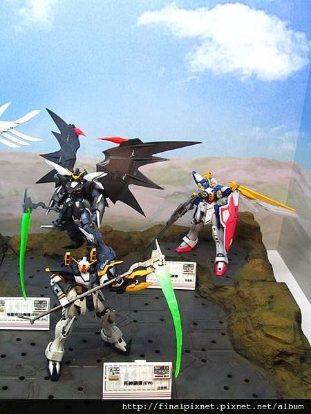 Gunpla EXPO 2011-鋼彈W-目前已出MG-2.jpg