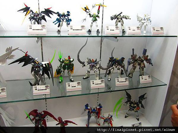 Gunpla EXPO 2011-鋼彈W系列-1.jpg