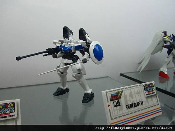 Gunpla EXPO 2011-鋼彈W系列-托爾吉斯Ⅱ.jpg