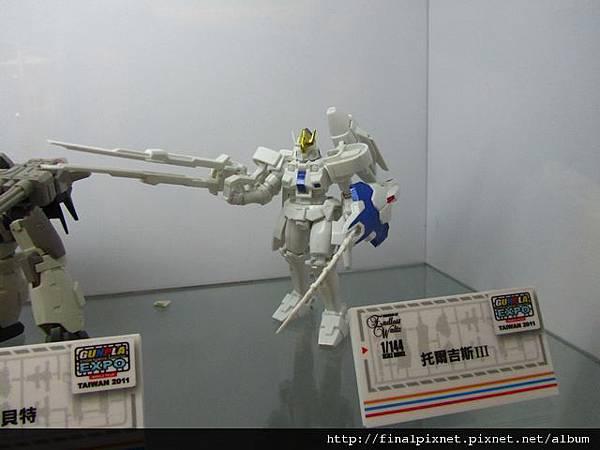 Gunpla EXPO 2011-鋼彈W系列-托爾吉斯Ⅲ.jpg