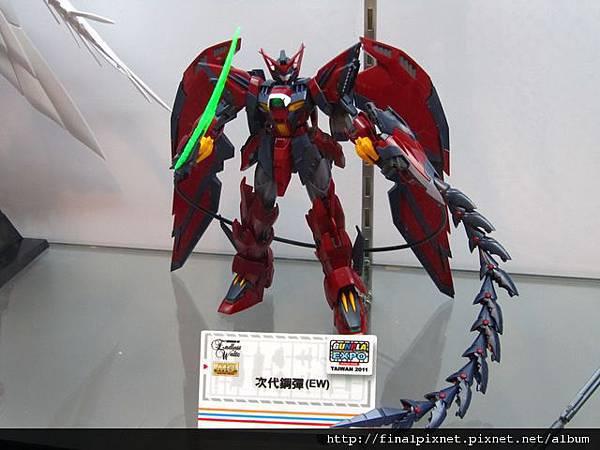 Gunpla EXPO 2011-鋼彈W系列-次代.jpg