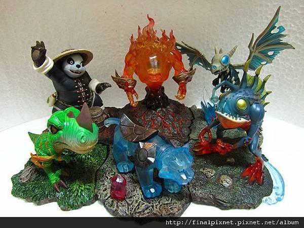 魔獸寵物 WarCraft Pet-大合體.jpg