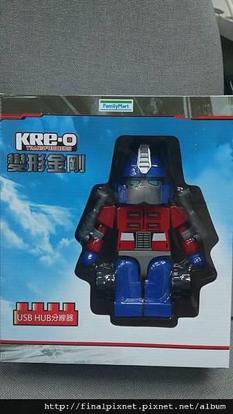 KRE-O 變形金剛-USB HUB柯博文-外盒