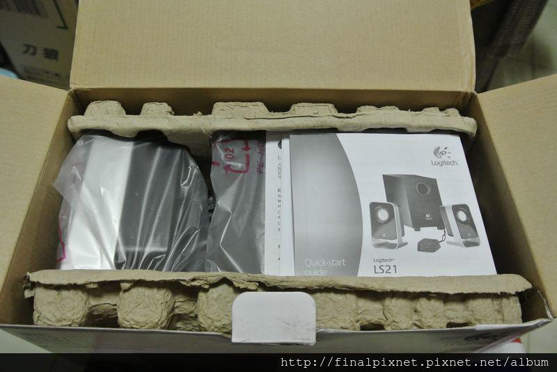 羅技 LS21 2.1聲道喇叭-開箱_800x600