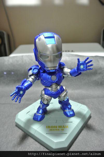 Tideway 鋼鐵人 Iron Man MK3 藍色ver.-pose-天地魔鬥_800x600