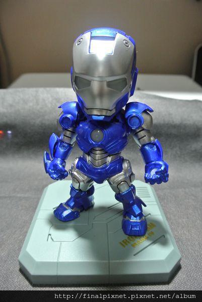 Tideway 鋼鐵人 Iron Man MK3 藍色ver.-pose-1_800x600