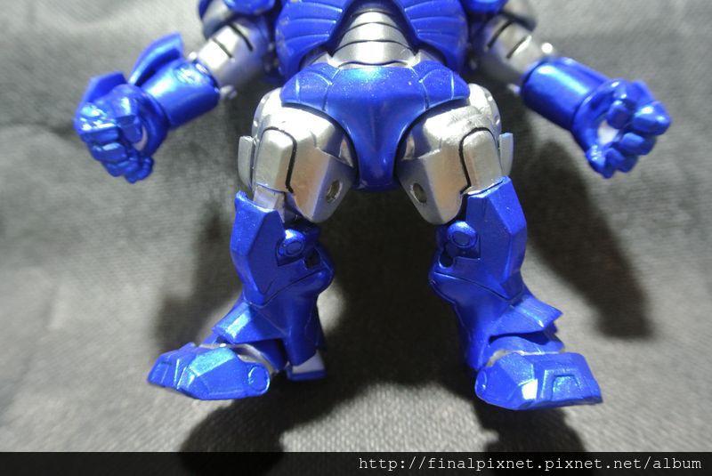 Tideway 鋼鐵人 Iron Man MK3 藍色ver.-下半身_800x600