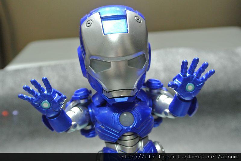 Tideway 鋼鐵人 Iron Man MK3 藍色ver.-pose-投降_800x600