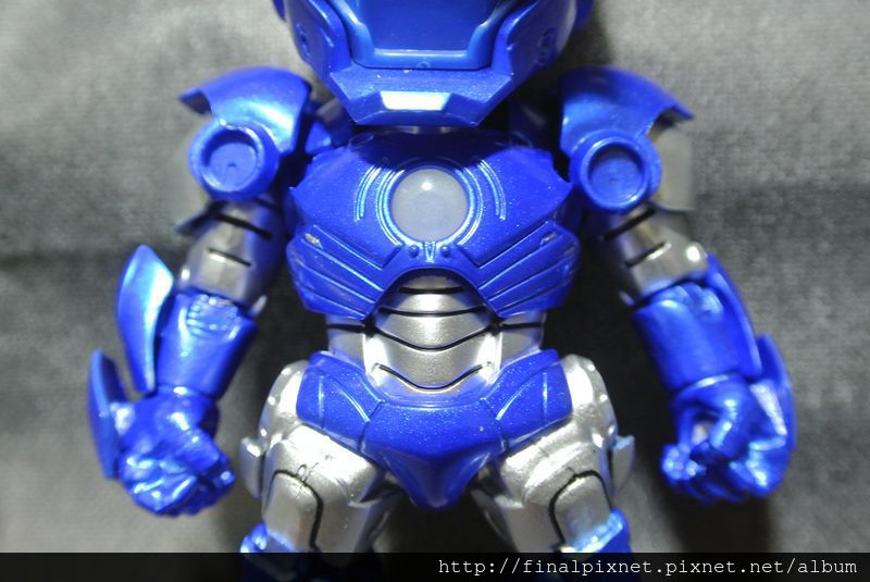 Tideway 鋼鐵人 Iron Man MK3 藍色ver.-上半身_800x600