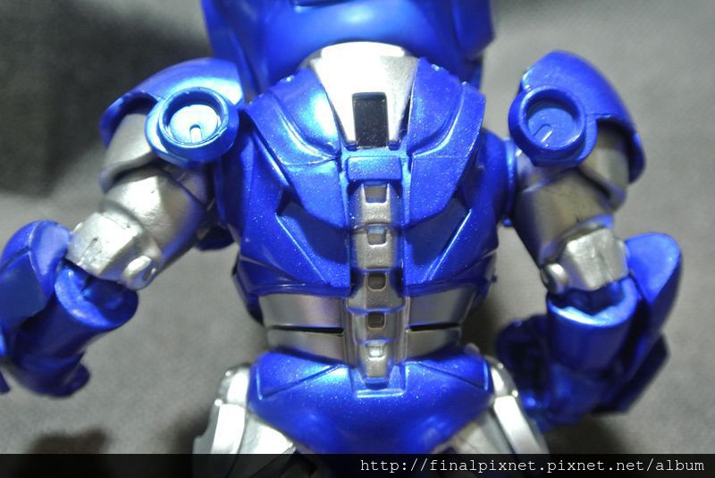 Tideway 鋼鐵人 Iron Man MK3 藍色ver.-上半身-背面_800x600