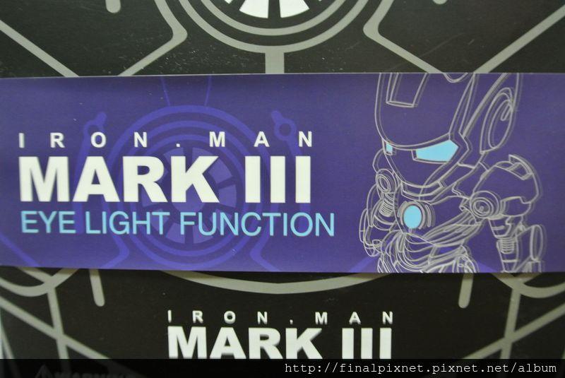 Tideway 鋼鐵人 Iron Man MK3 藍色ver.-外盒-MARK Ⅲ唷_800x600