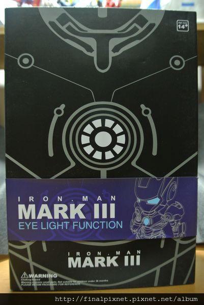 Tideway 鋼鐵人 Iron Man MK3 藍色ver.-外盒-正面_800x600