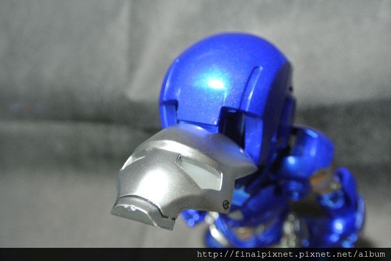 Tideway 鋼鐵人 Iron Man MK3 藍色ver.-打開面罩_800x600