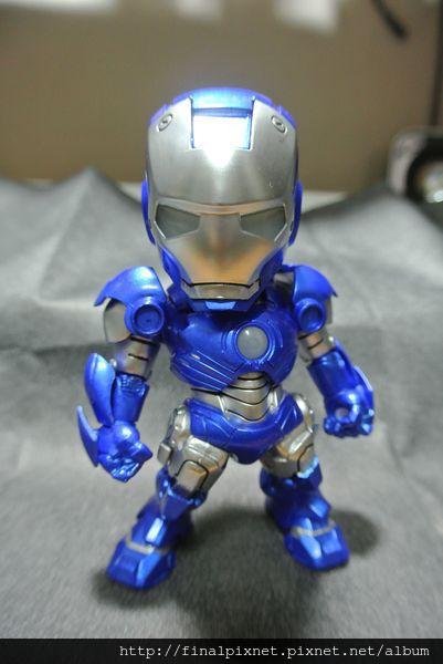 Tideway 鋼鐵人 Iron Man MK3 藍色ver.-全身照_800x600