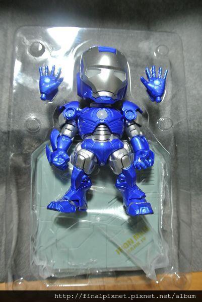 Tideway 鋼鐵人 Iron Man MK3 藍色ver.-全物件_800x600