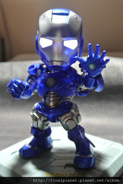 Tideway 鋼鐵人 Iron Man MK3 藍色ver.-開燈_800x600