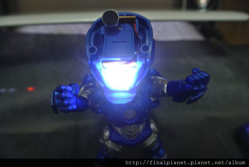 Tideway 鋼鐵人 Iron Man MK3 藍色ver.-超亮的_800x600