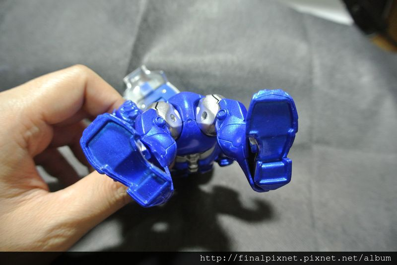 Tideway 鋼鐵人 Iron Man MK3 藍色ver.-腳底_800x600