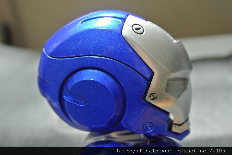 Tideway 鋼鐵人 Iron Man MK3 藍色ver.-頭側部_800x600