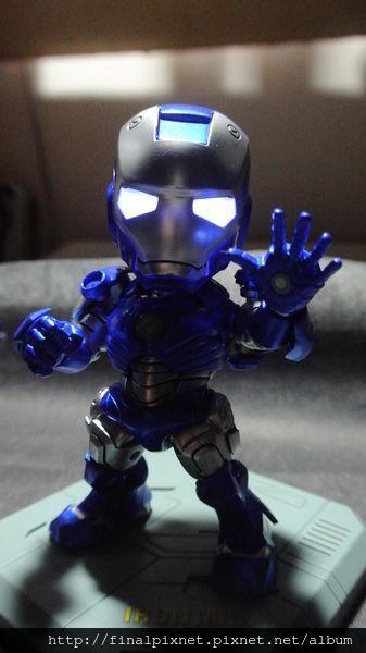 Tideway 鋼鐵人 Iron Man MK3 藍色ver.-關燈_800x600