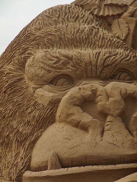 2010沙雕-大猩猩近照.JPG
