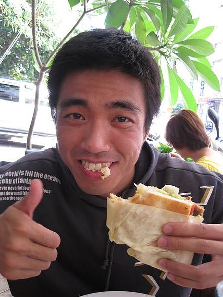 第2日早餐-尼克咖啡-法可頌-硬哥好吃.JPG