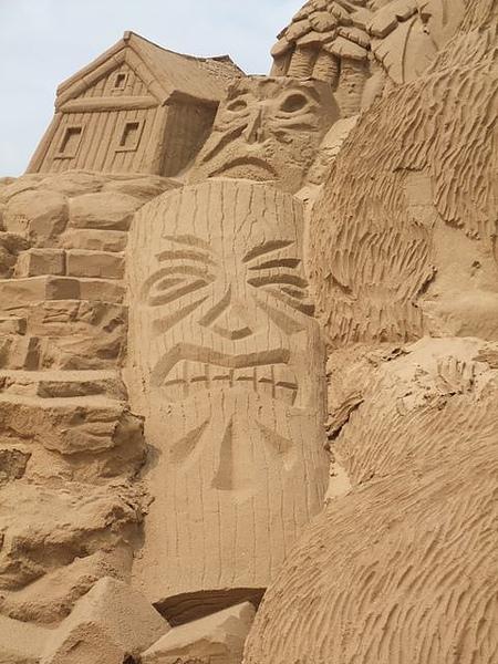 2010沙雕-石頭臉.JPG