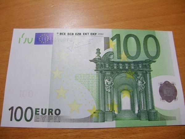 100元正面