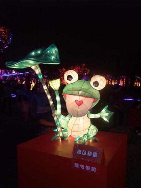 粉可愛的綠色青蛙.JPG