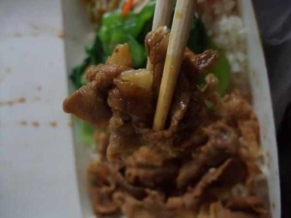 壽喜燒豬肉-滷得有點過老.JPG