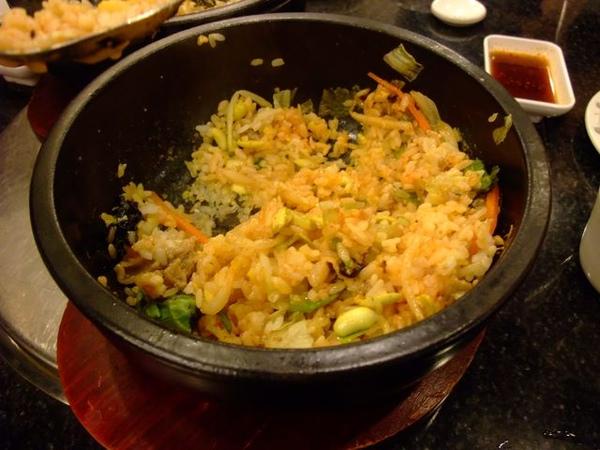 辣味的石鍋拌飯.JPG