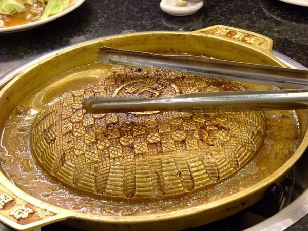 銅盤烤肉鍋吃光光.JPG