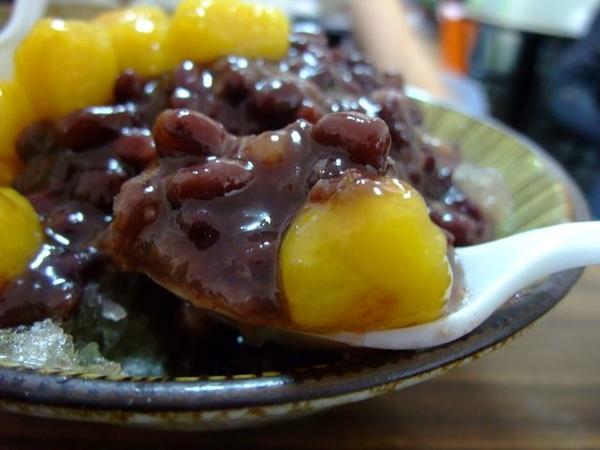青年小吃-蜜紅豆與蕃薯圓搭配.JPG