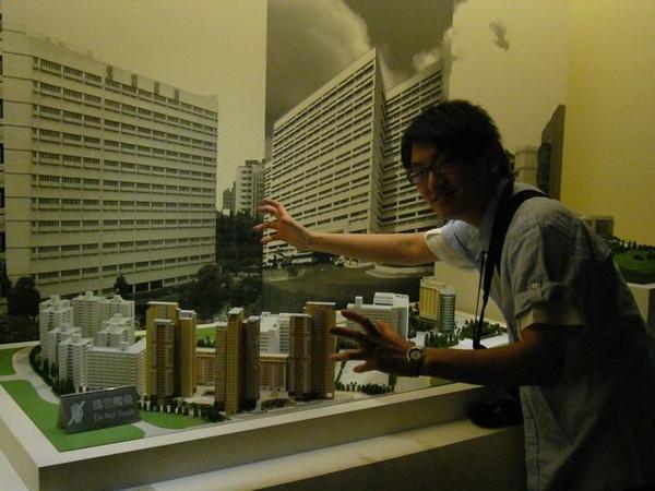 台塑文化紀念館-各大醫院模型-我來搗亂.JPG