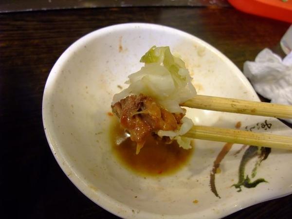 搭配泡菜吃也很合味.JPG