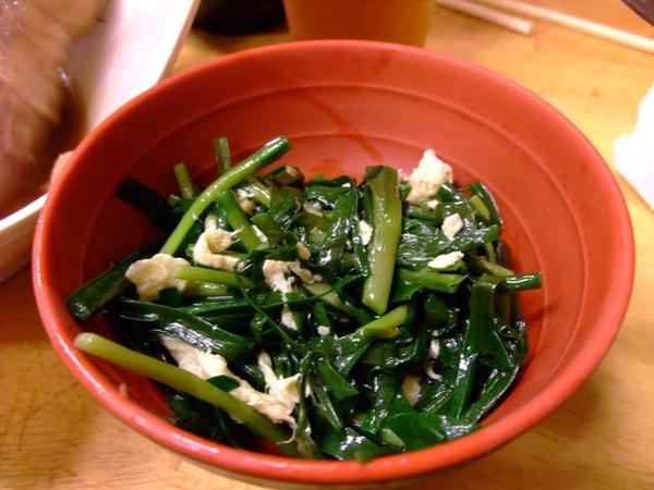 烤肉定食-青菜.JPG