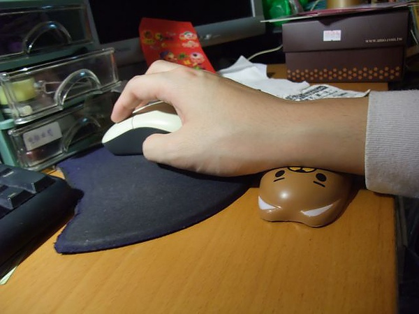 茶裏王滑鼠腕墊-實際使用.jpg