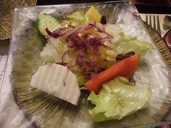 餐點-和風醬生菜沙拉.JPG