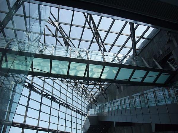 蘭陽博物館-空中階梯.JPG